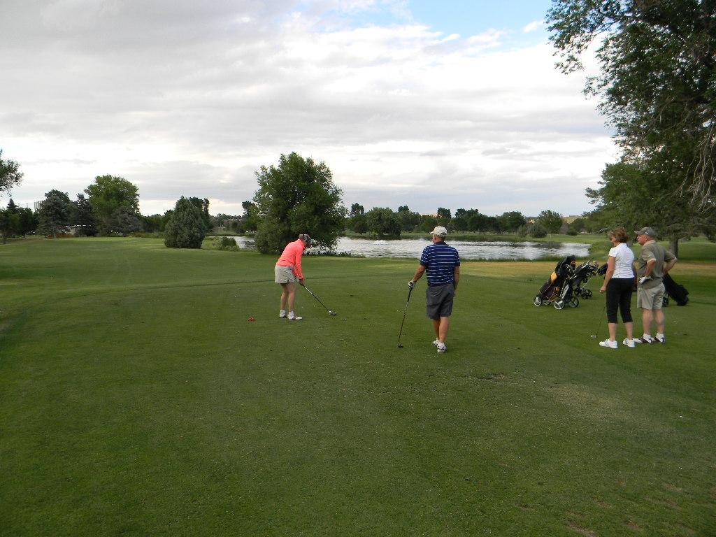 Singles golfers